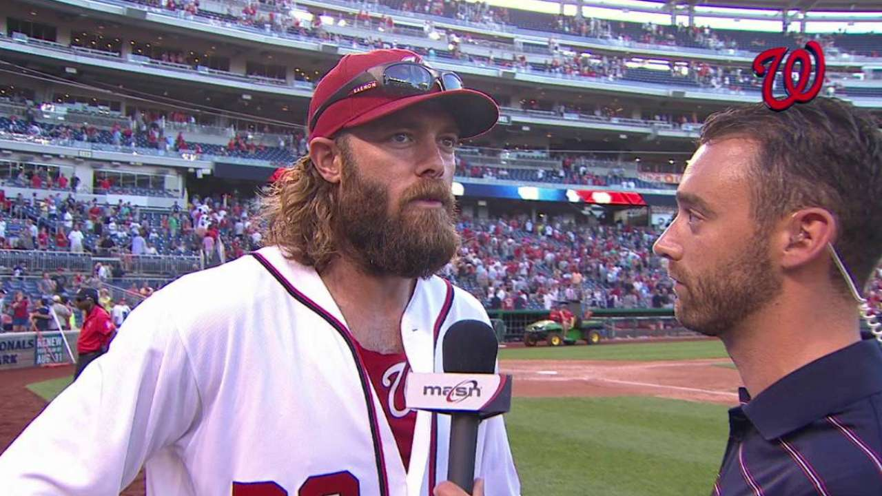 Werth on Nats' win over Tribe