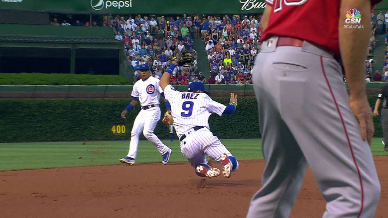 Baez's incredible play