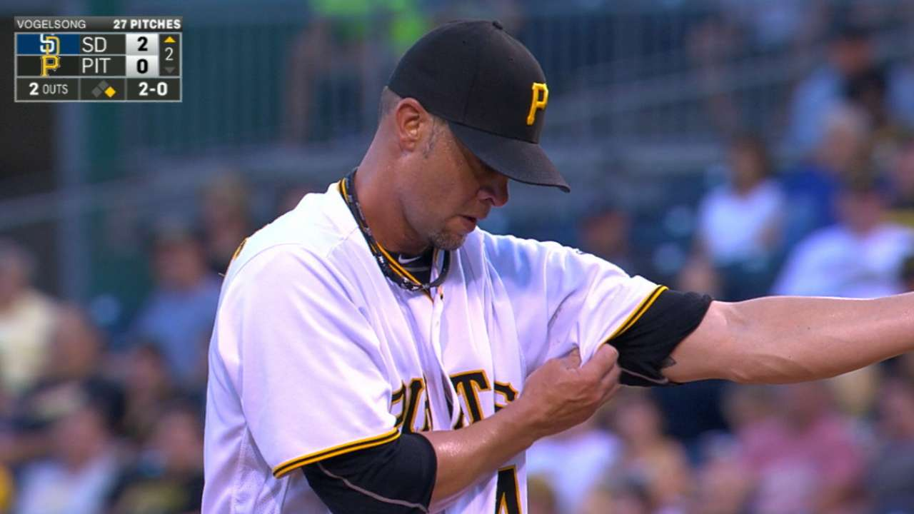 Vogelsong's solid start