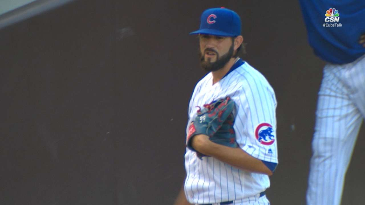 Hammel's scoreless start