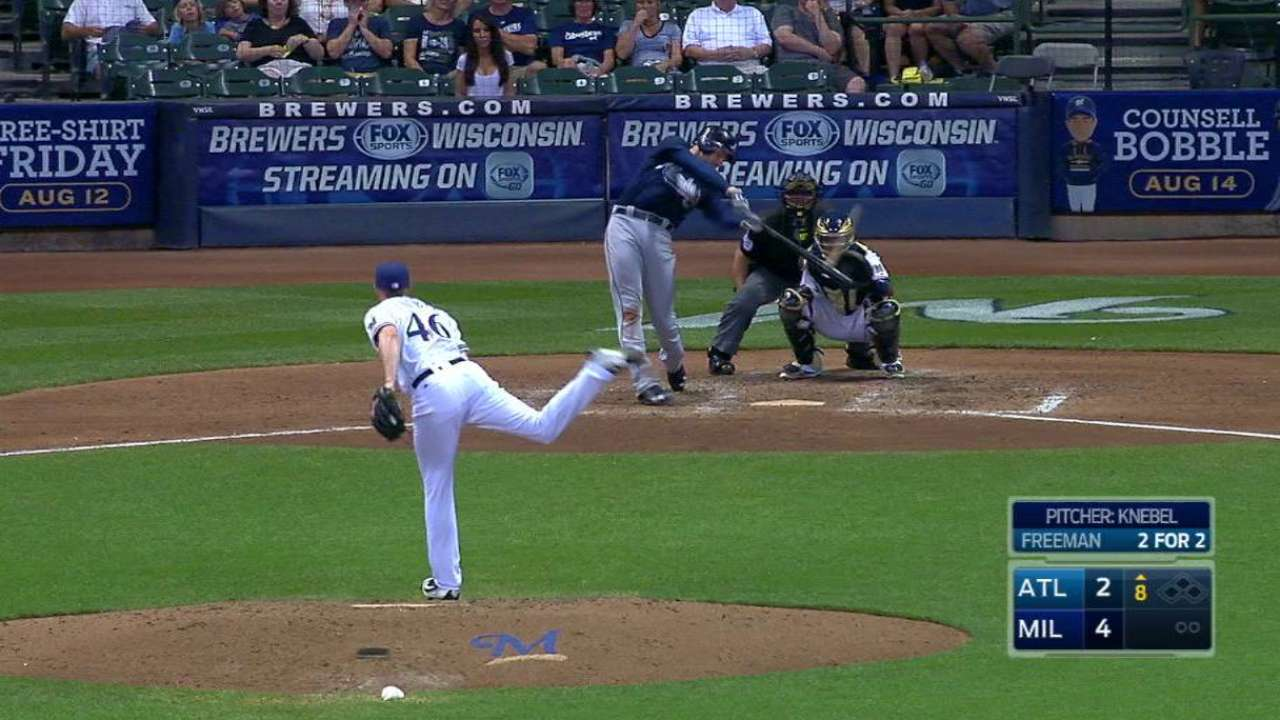 Freeman's second solo home run