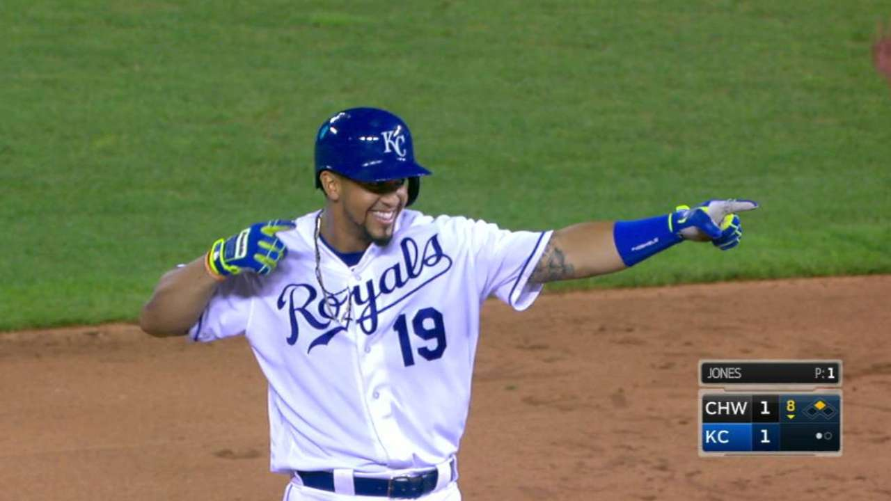 Cuthbert's game-tying double