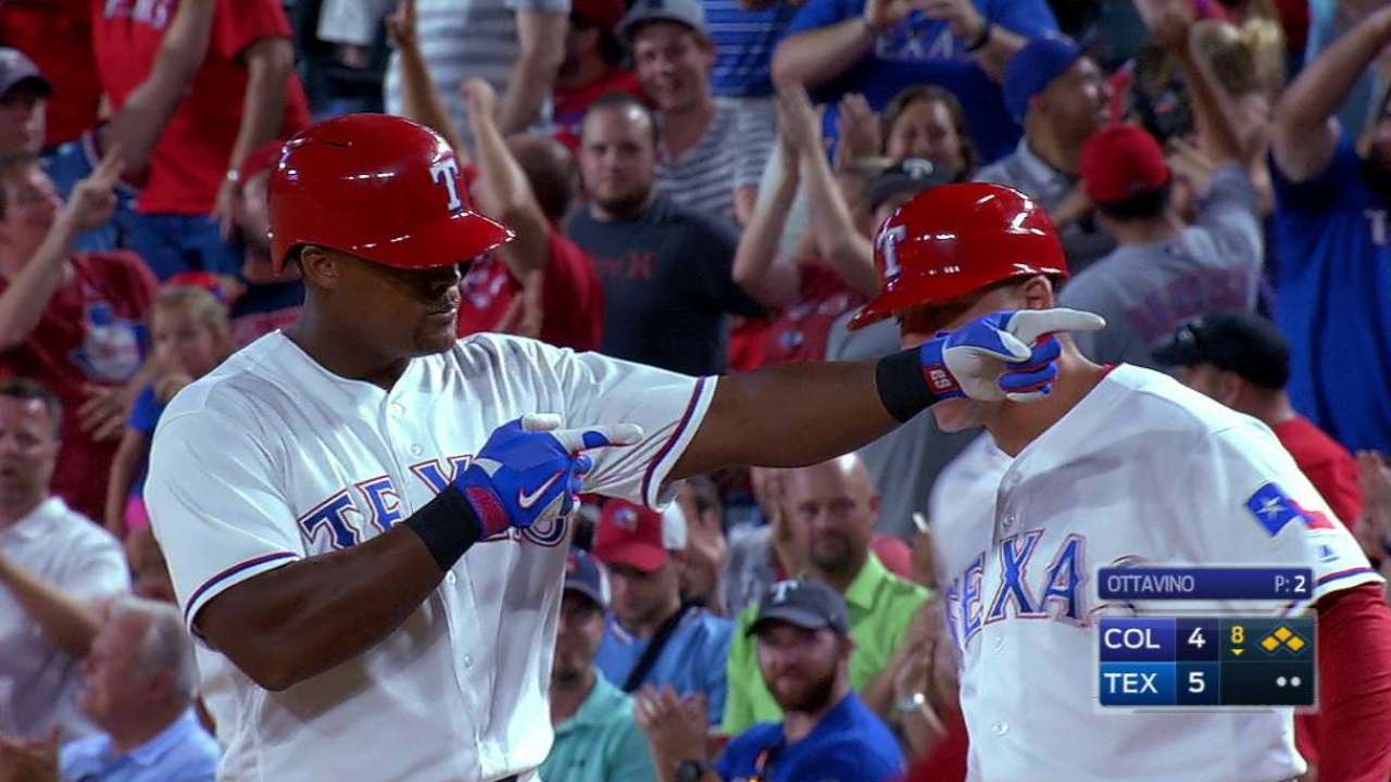 Resilient Rangers rally, win fifth straight