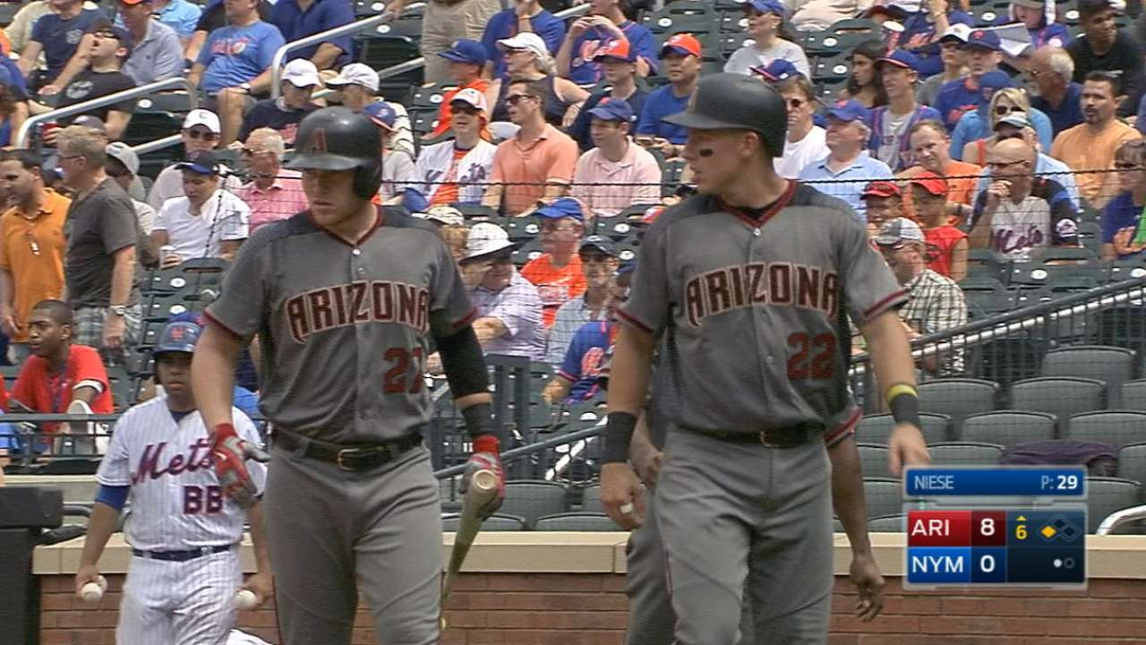 D-backs rout Mets, Thor en route to sweep