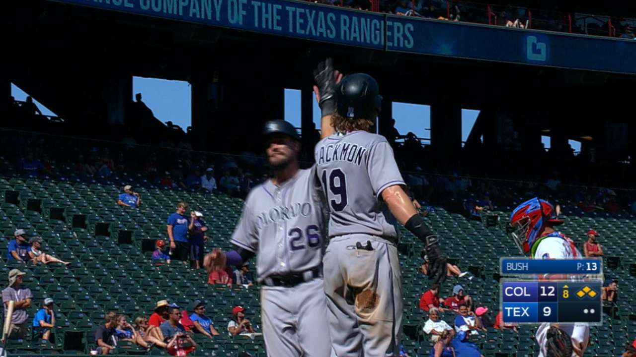 CarGo, Rox turn tables on Rangers with late rally