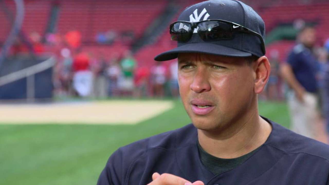 A-Rod on playing career
