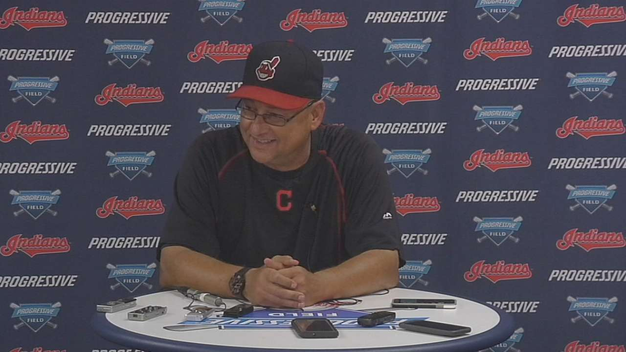 Francona on win and Santana