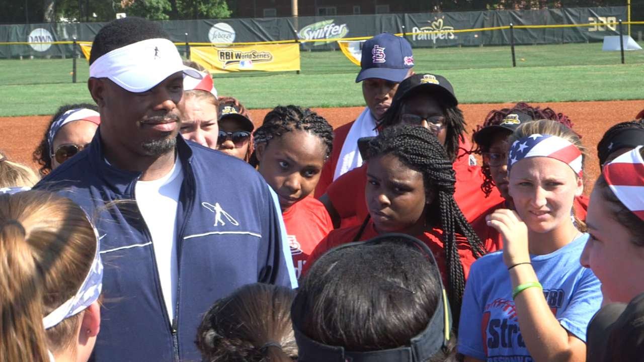 As youth ambassador, Griffey offers key advice