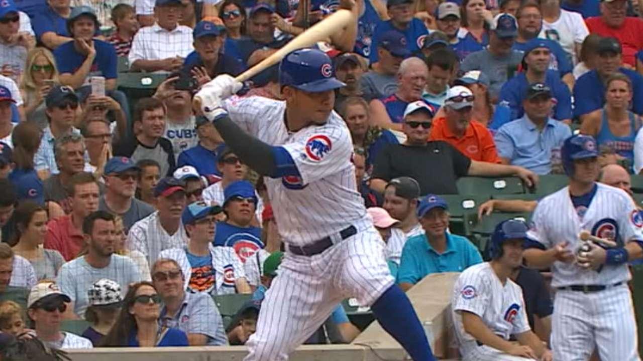 Cubs' five-run 2nd inning