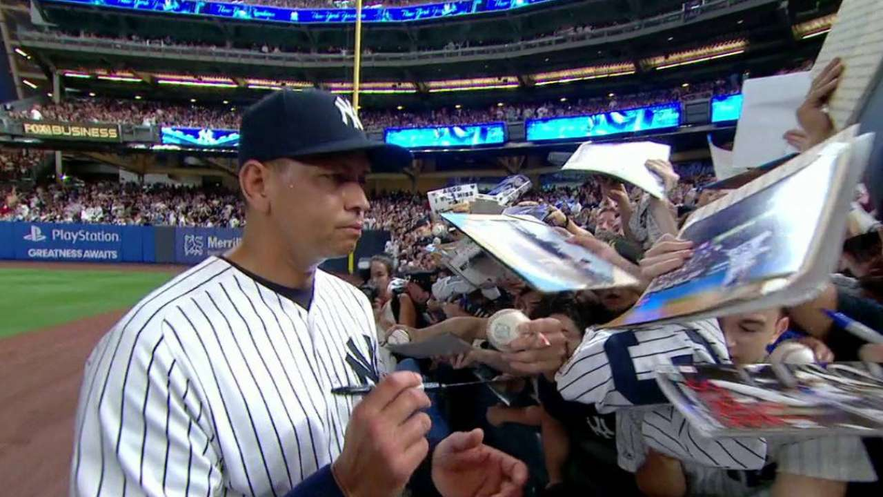 Yankees' broadcast on A-Rod