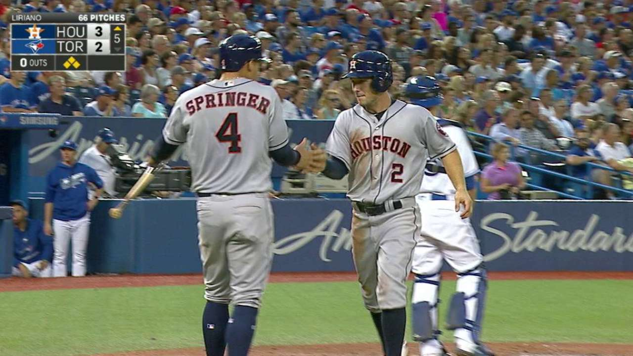 Altuve approaching 1,000 hits at historic pace