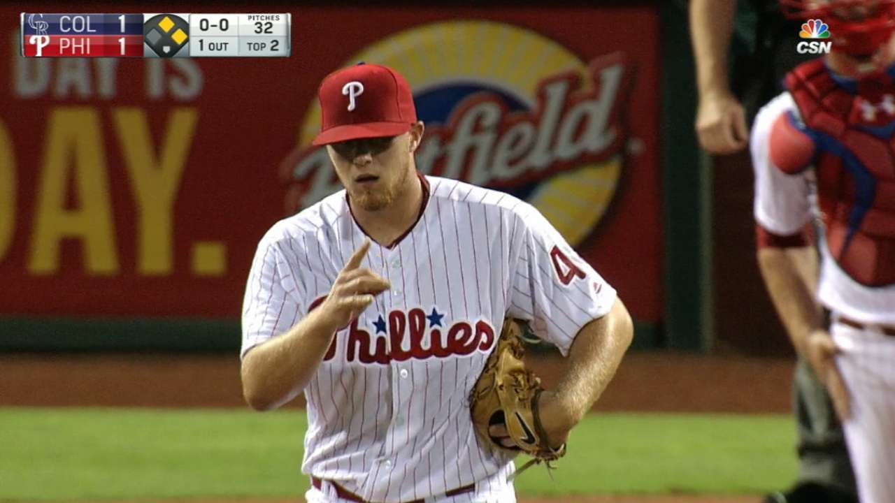 Thompson's 4-K 2nd inning highlights first win