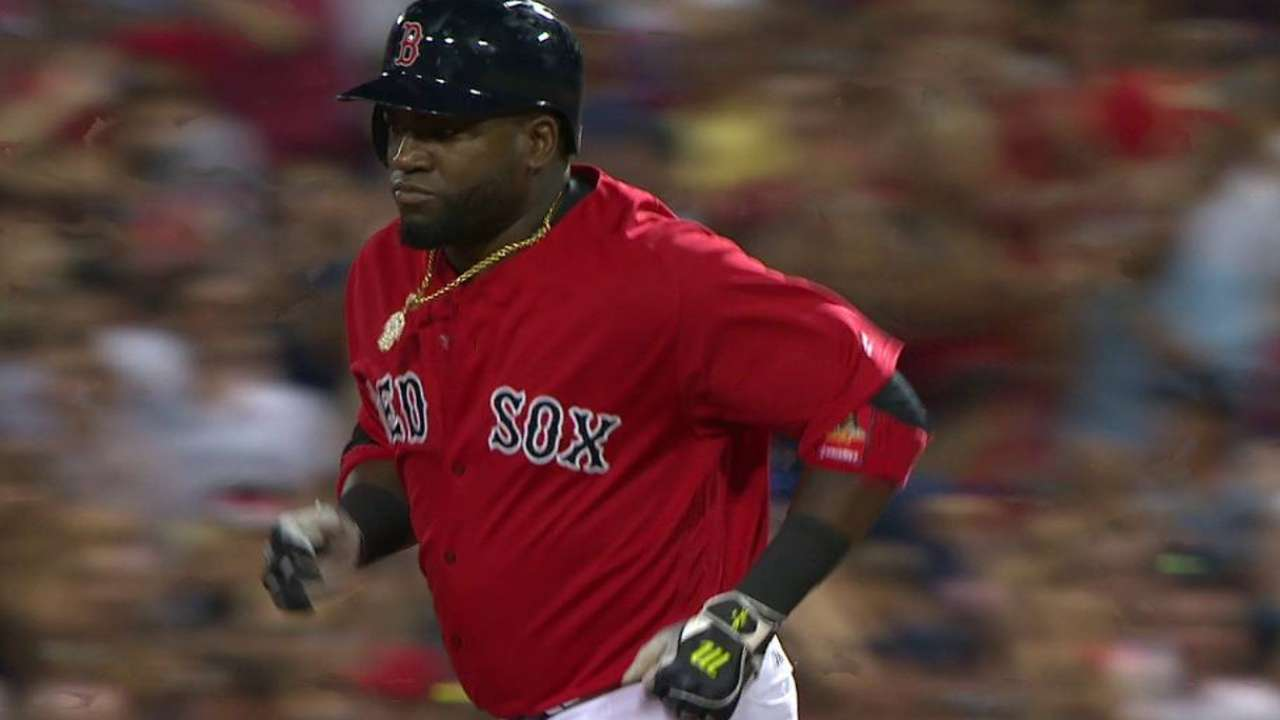 Papi's milestone home run