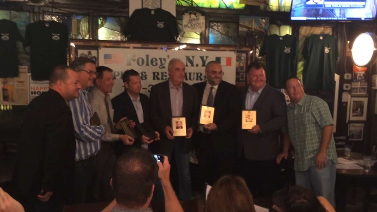 Irish American Baseball HOF inducts 6 members