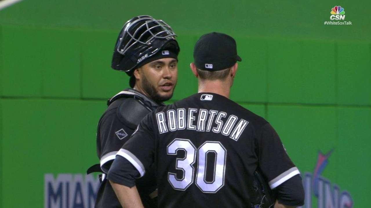 Robertson hopes to build on slump-busting save