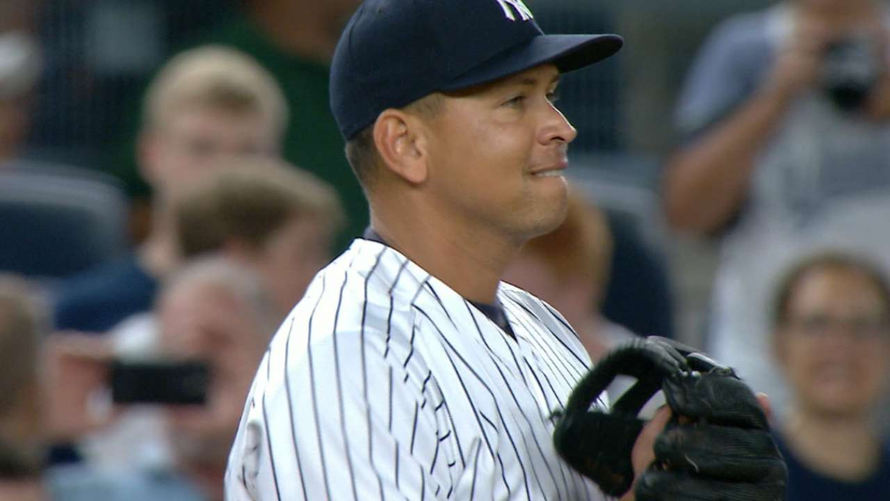 Return to 3B conjures emotions for A-Rod, Girardi