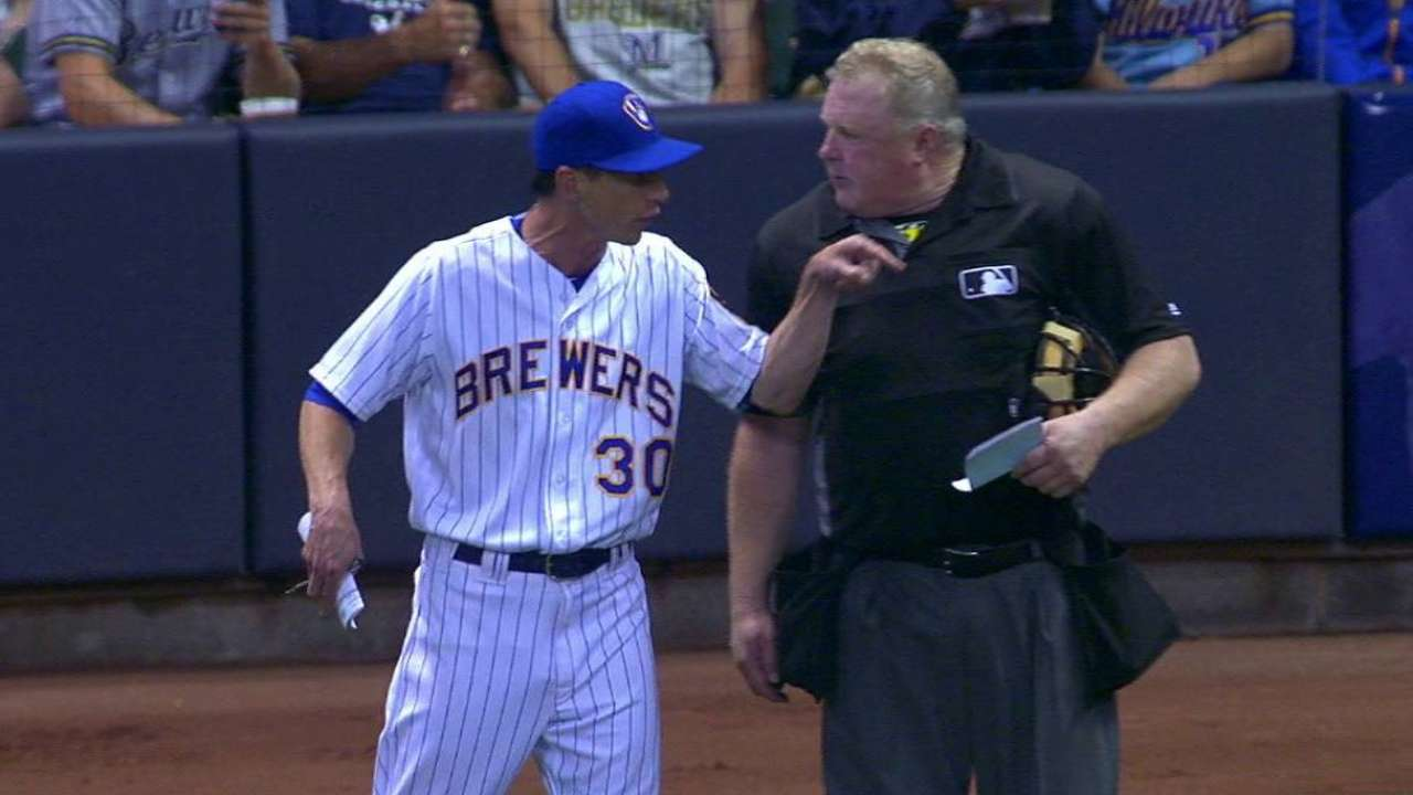 Counsell gets ejected