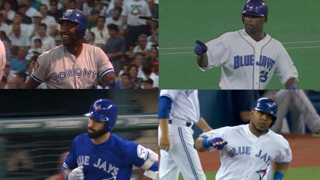Quartet of Blue Jays hit 300 HRs