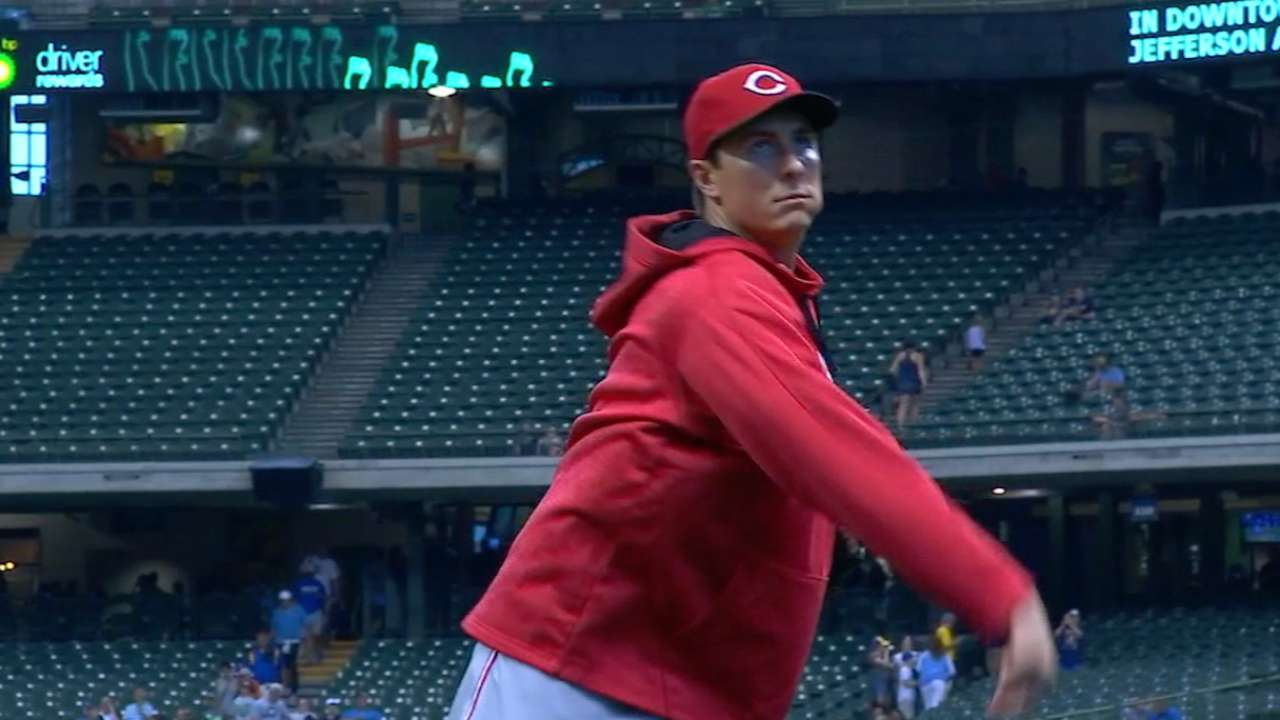 Bailey in vintage form as Reds cool Crew