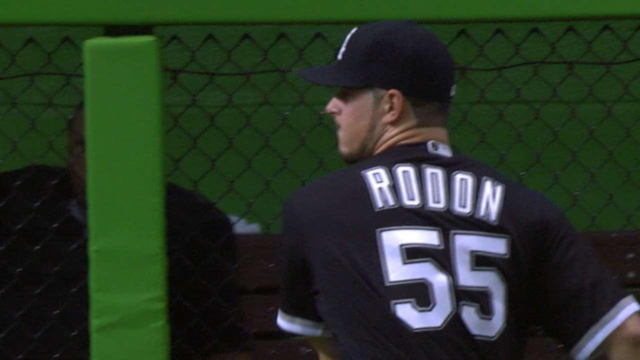 White Sox jump on Marlins, back Rodon's gem