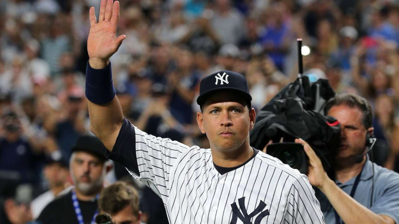 A-Rod's finale with Yankees