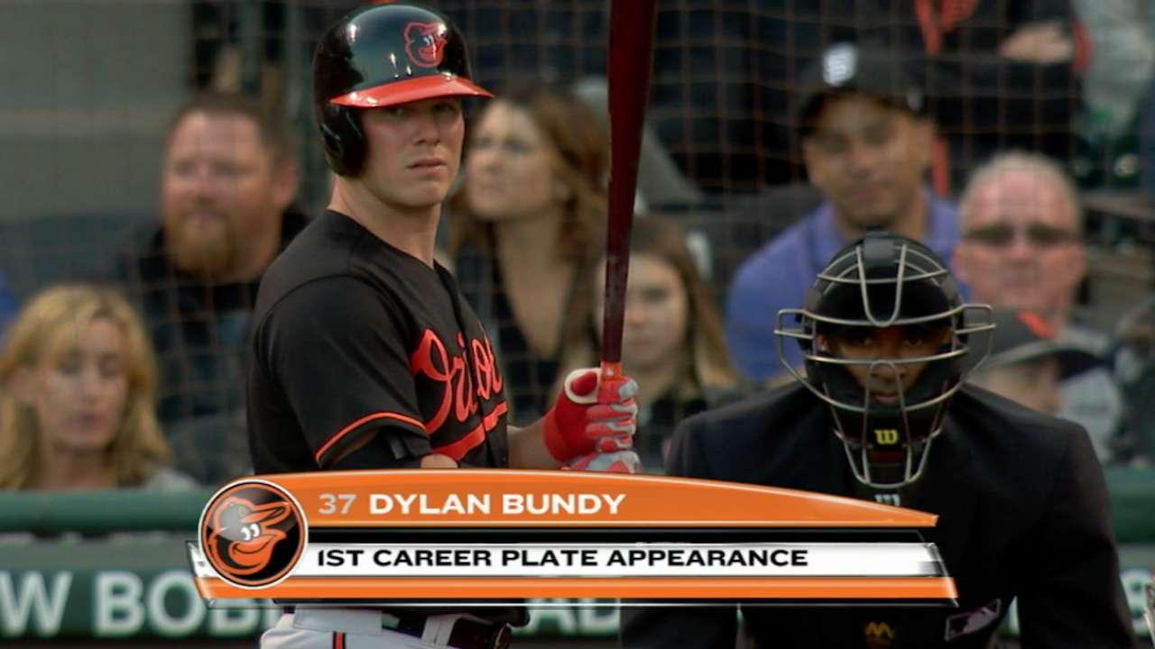 Bundy finds batting an 'interesting' experience