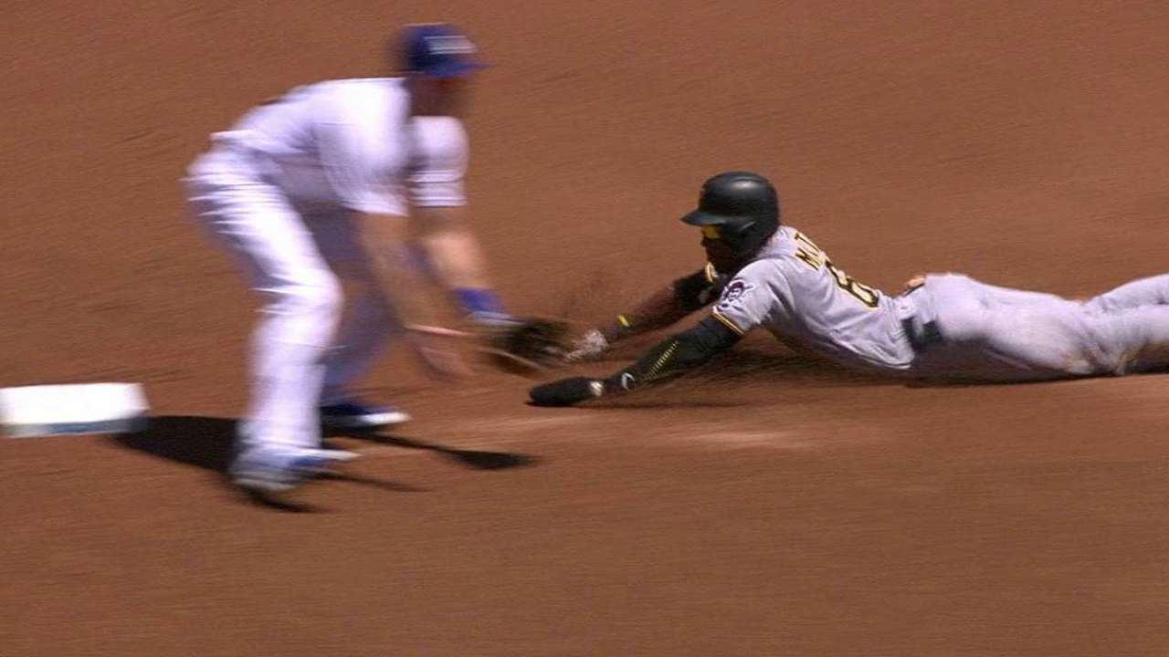 Marte's 40th steal