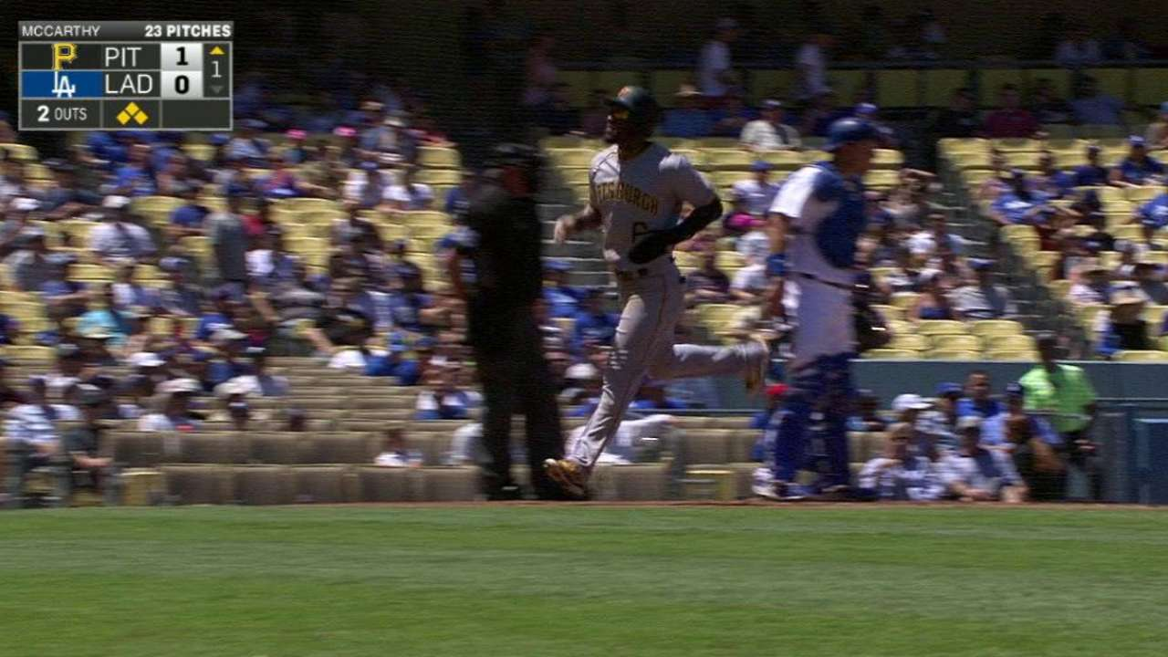 Marte scores in the 1st