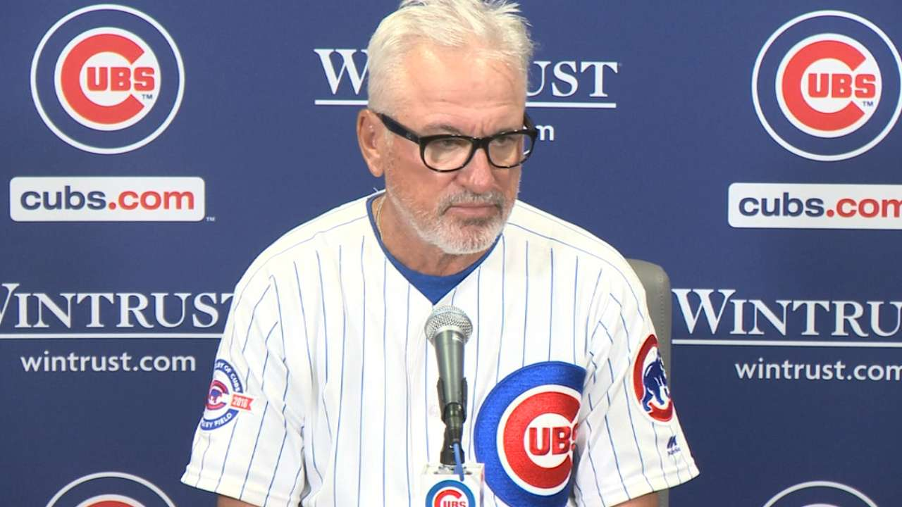 Maddon on 8-4 loss to Cards