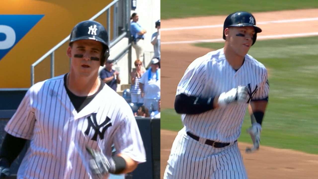 Must C: Yankees' historic homers