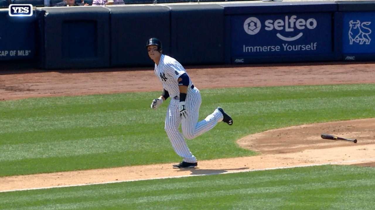 Austin, Judge homer in MLB debut