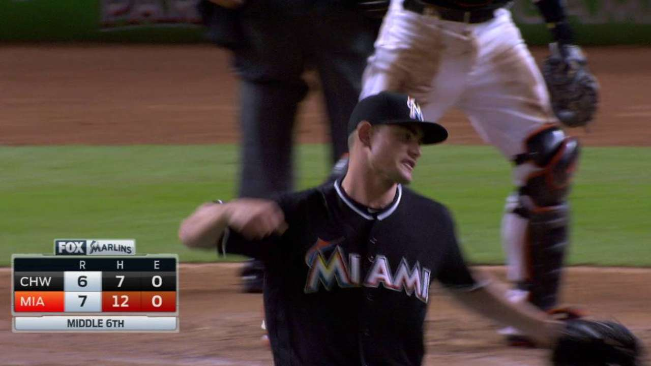 Hechavarria makes stop, turns DP
