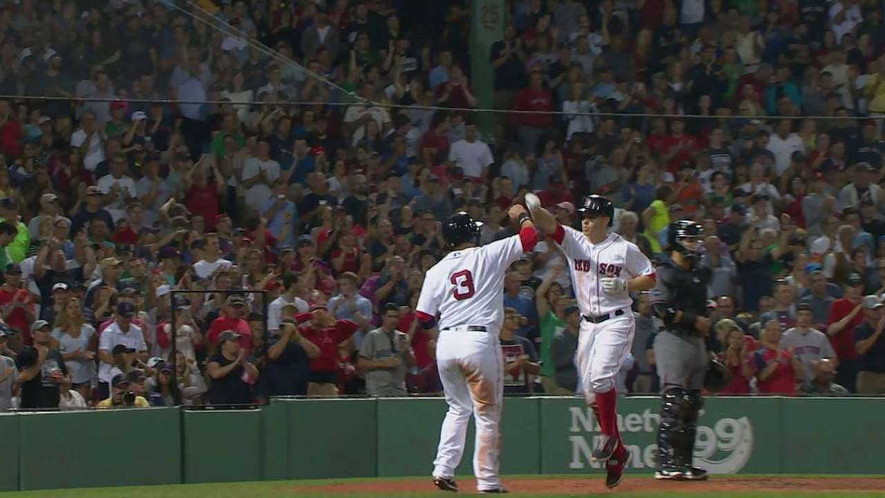 HRs, key relief fuel Red Sox over D-backs
