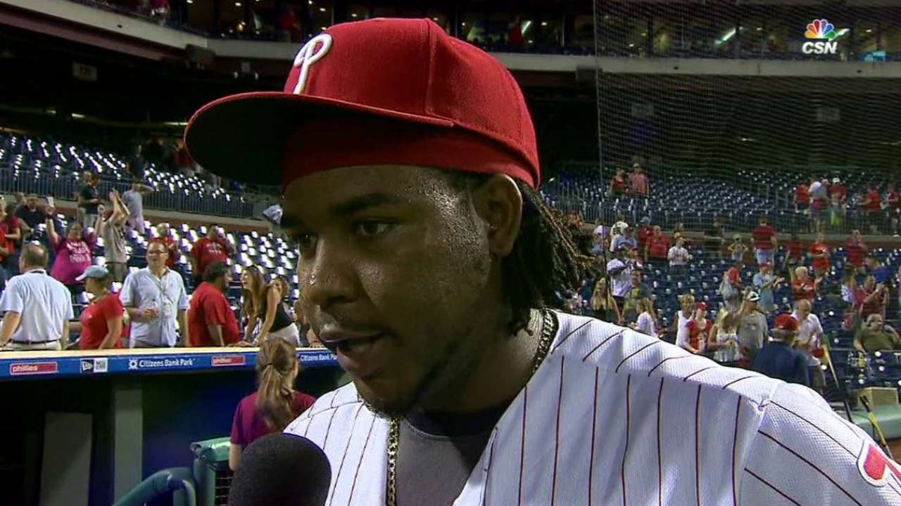 Franco discusses the win