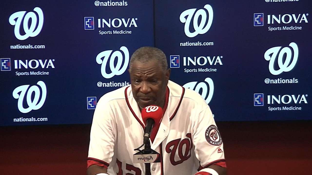 Baker discusses win over Braves