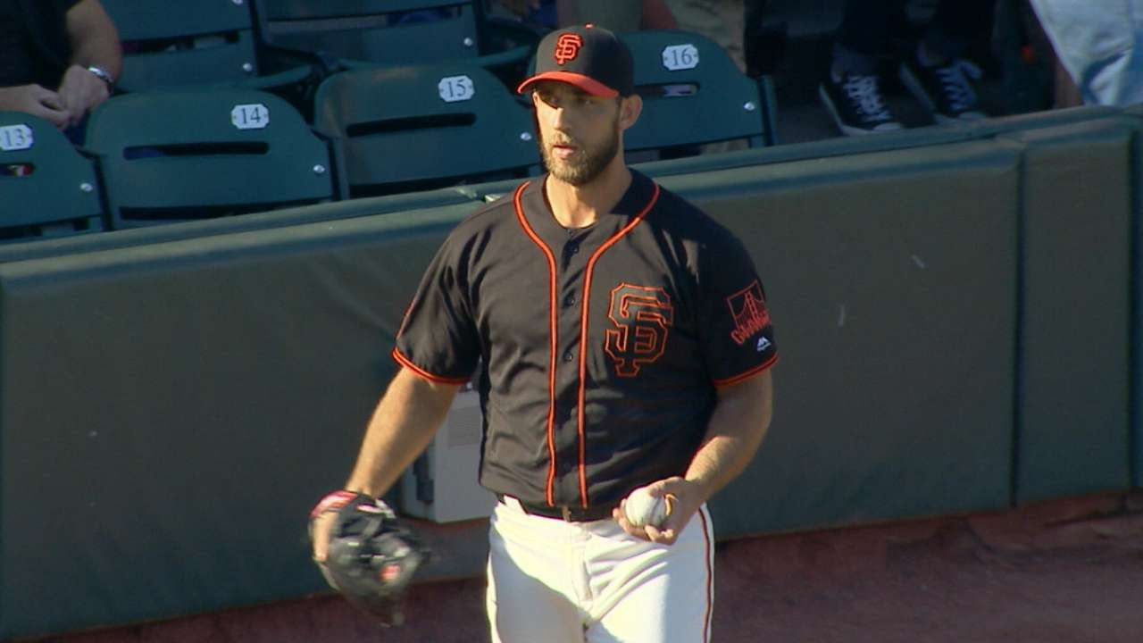 Bumgarner exerts dominance once again