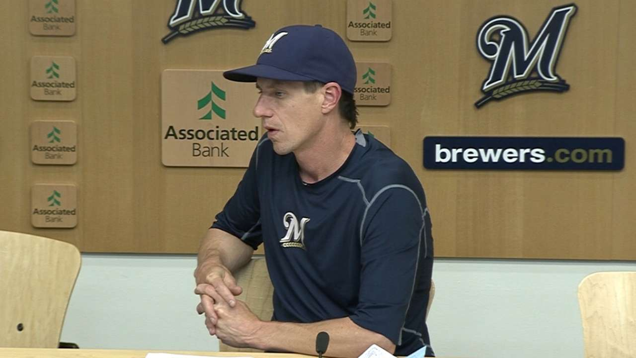 Counsell on 11-5 loss to Reds