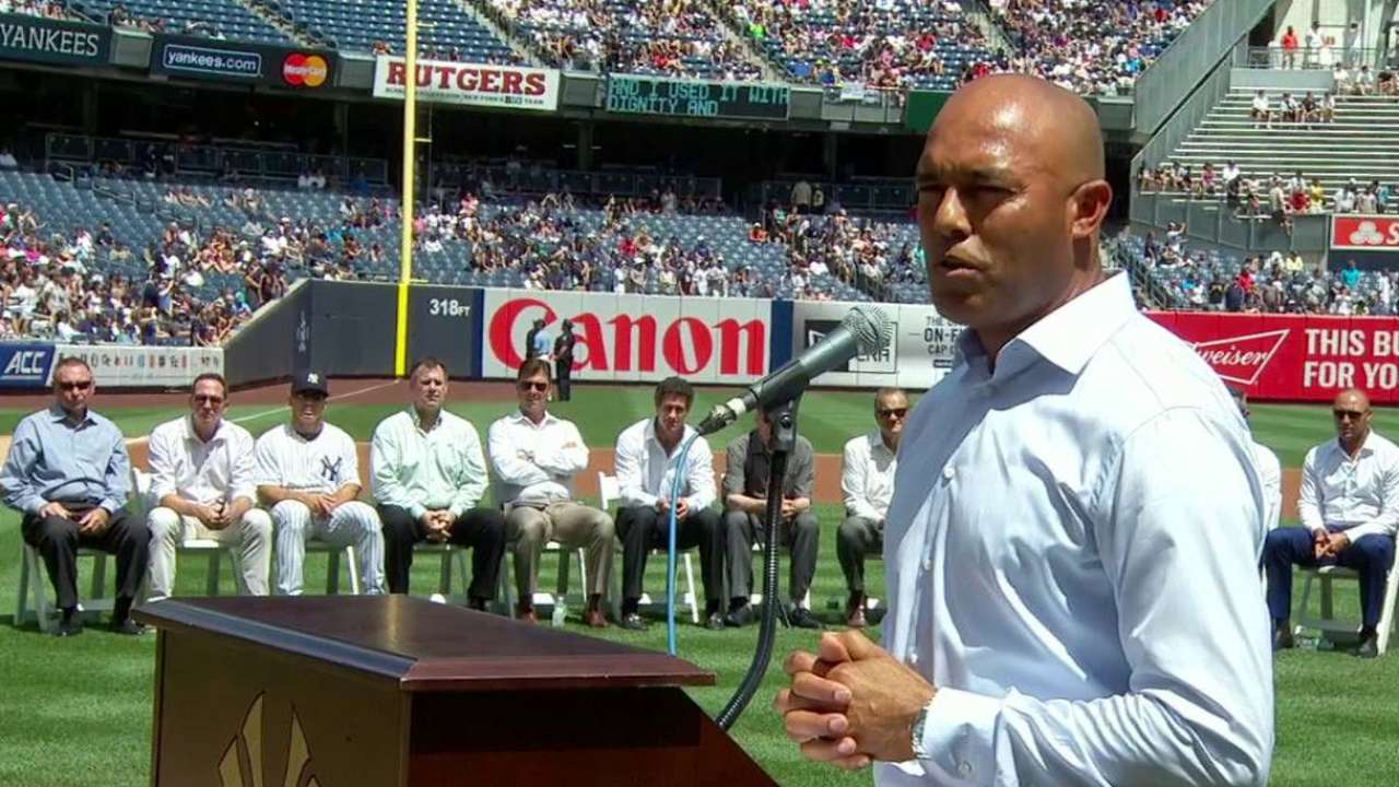 Rivera's heartfelt speech