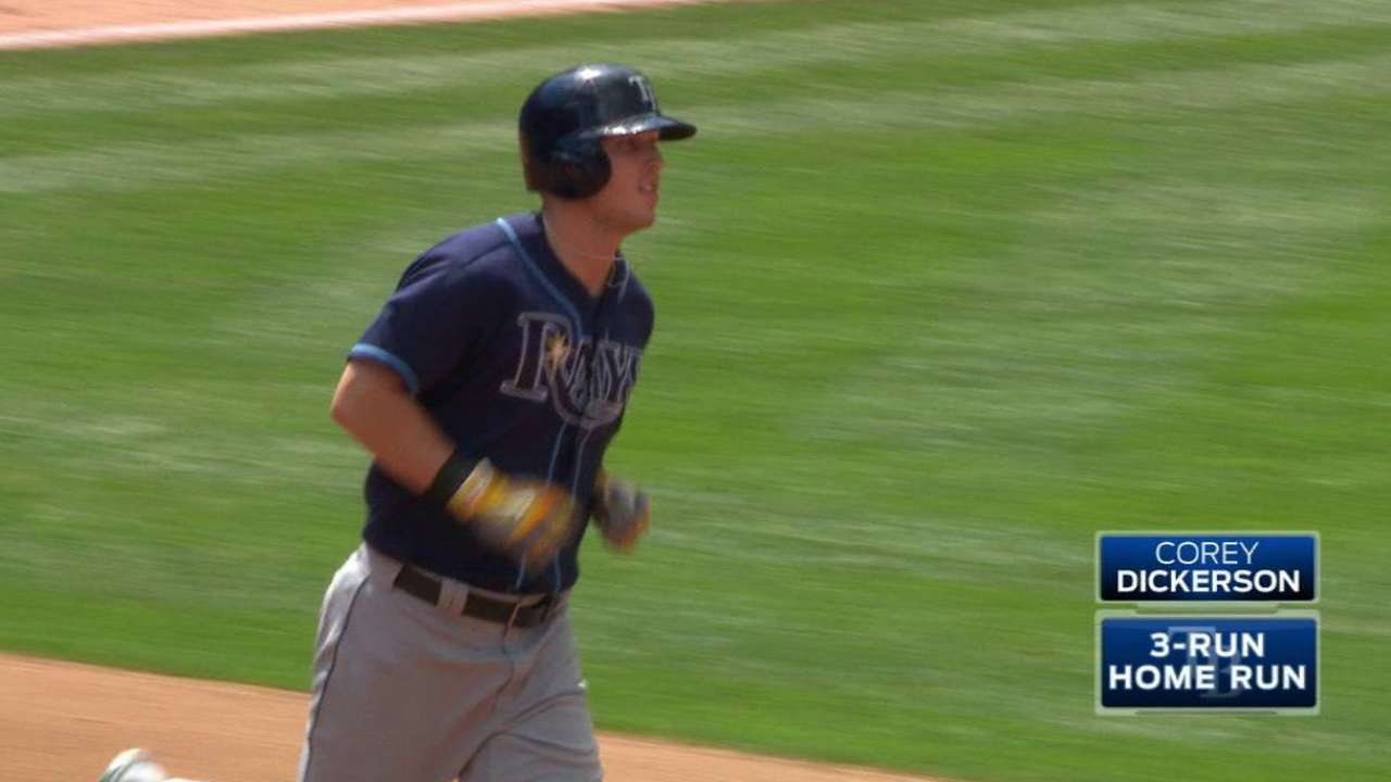 Dickerson adjusting to new spot in lineup