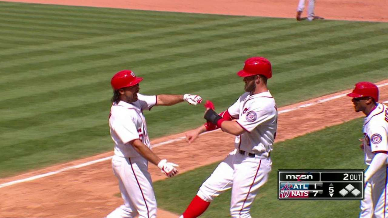 Rendon's three-run jack