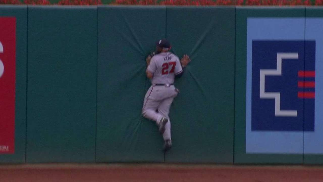 Kemp's stellar catch