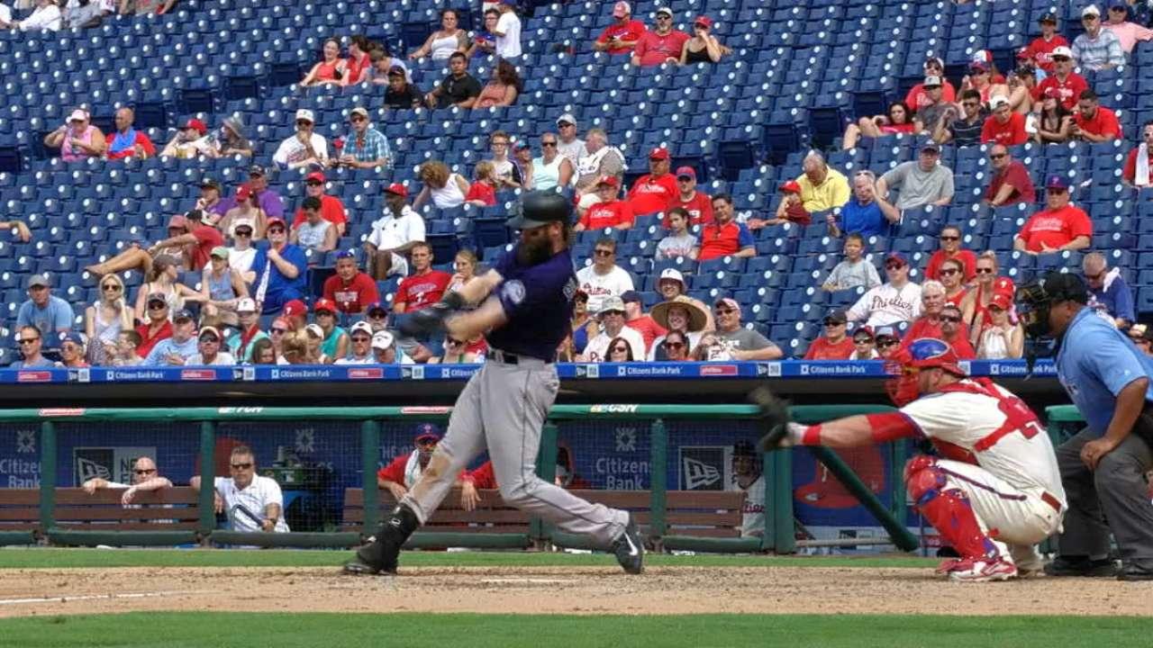 Blackmon's two-homer game