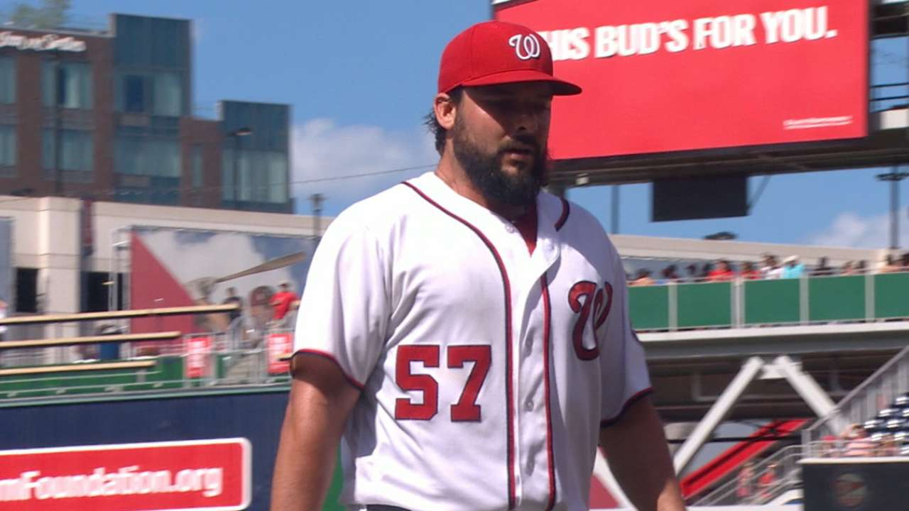 Rendon, Roark guide Nats to rout of Braves