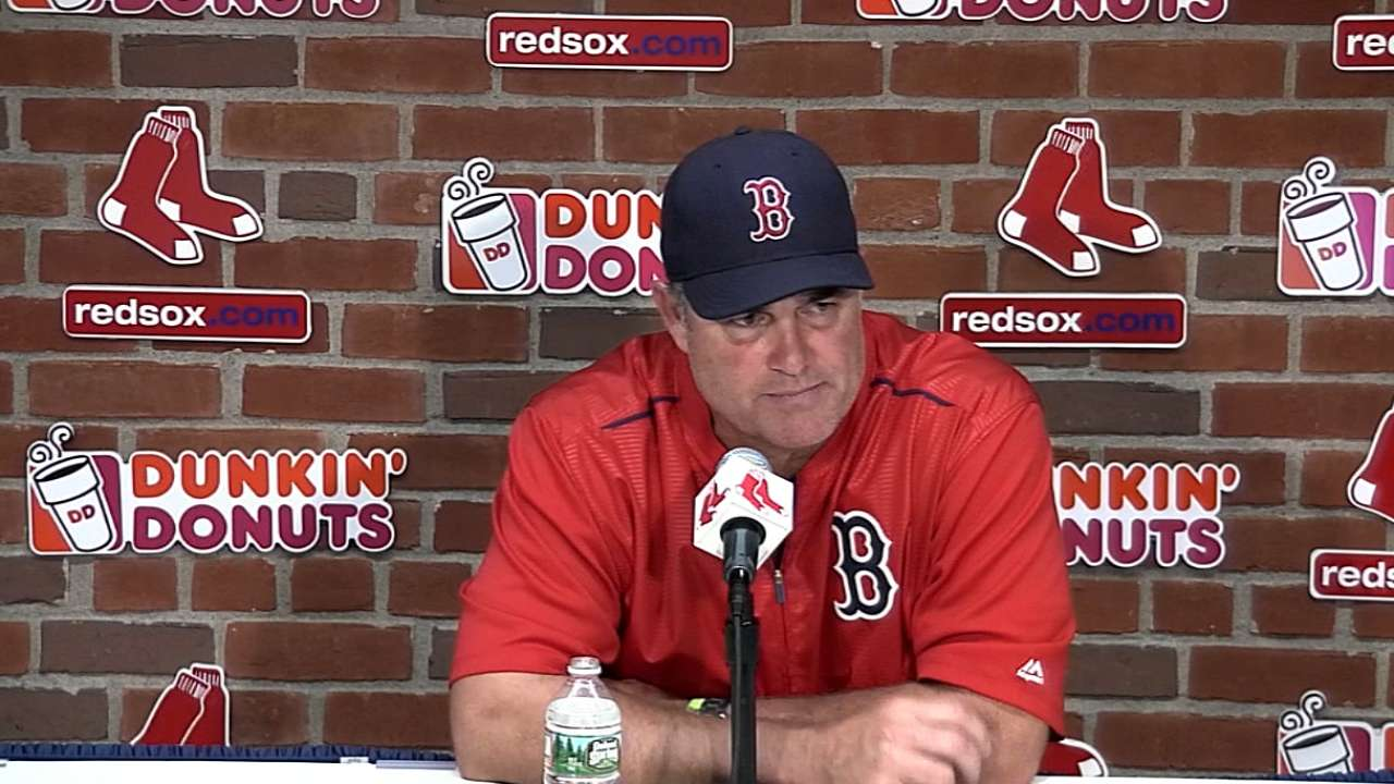 Farrell on blowout win, sweep