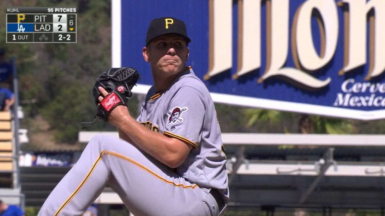 Kuhl's solid outing