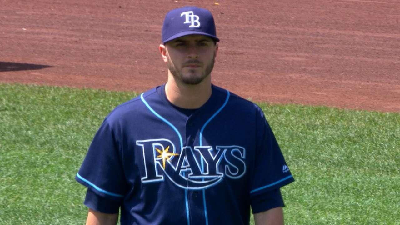 Odorizzi's six strikeouts