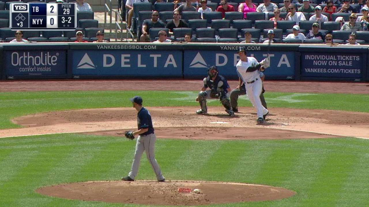 Judge follows up debut with another home run