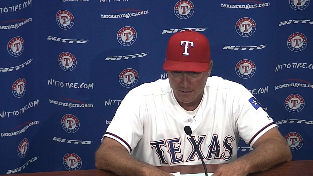 Rangers' bats endure rough series vs. Tigers