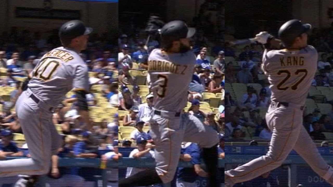 Piratas madrugan y le propinan paliza a Dodgers