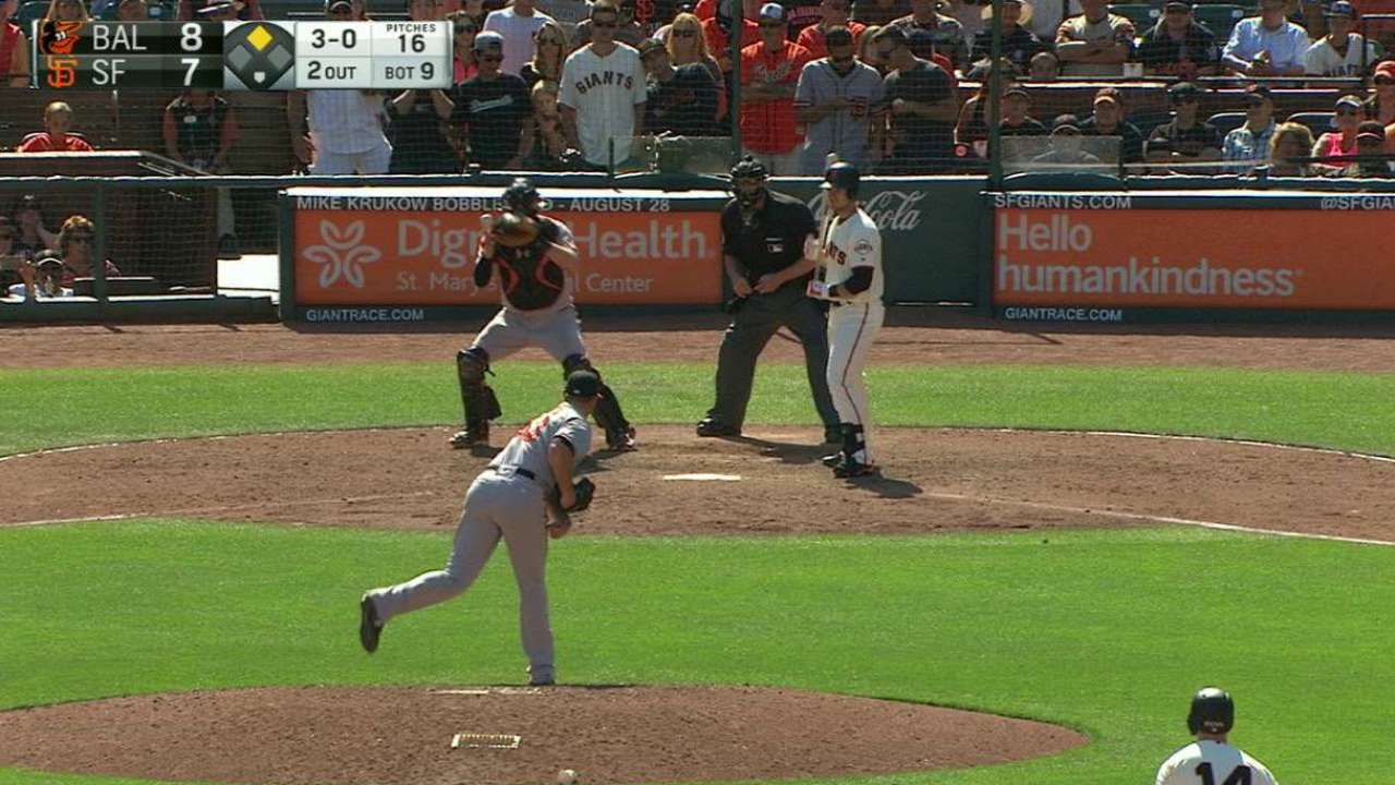 Posey scratched with lower back tightness